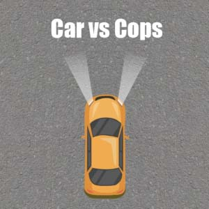 Free Game Car vs Cops