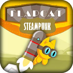 Free Game FlapCat Steampunk