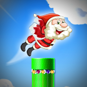 Free Game Flying Santa