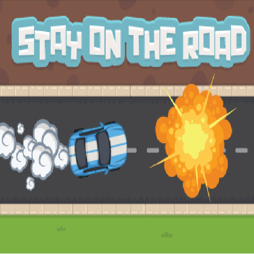 Free Game Stay on the Road